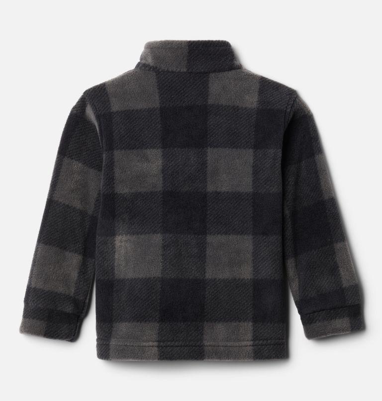 Zing™ III Fleece | 020 | 3T Boys' Toddler Zing™ III Fleece Jacket, Black Check (B) Print, back