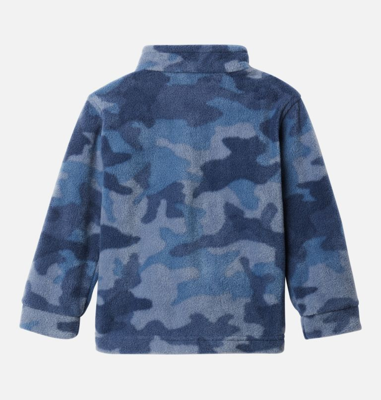 Zing™ III Fleece | 469 | 2T Boys' Toddler Zing™ III Fleece Jacket, Collegiate Navy Trad Camo (B) Print, back