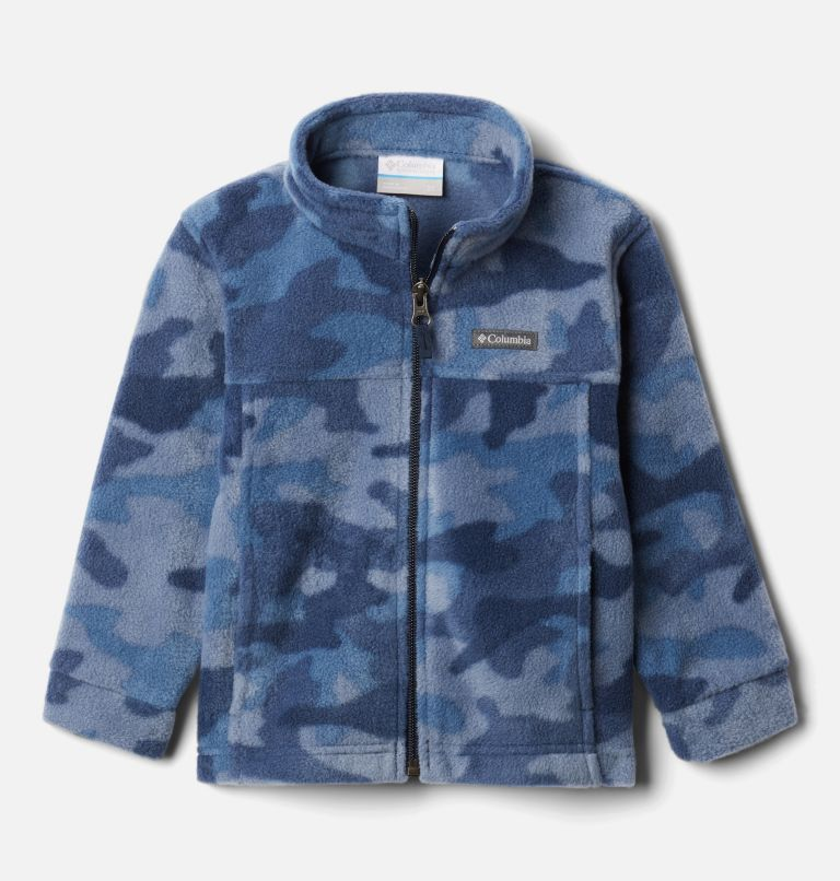 Zing™ III Fleece | 469 | 3T Boys' Toddler Zing™ III Fleece Jacket, Collegiate Navy Trad Camo (B) Print, front