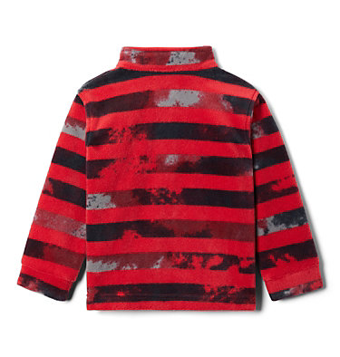Boys' Toddler Zing™ III Fleece Jacket Zing™ III Fleece | 616 | 2T, Mountain Red Tie Dye Stripe, back