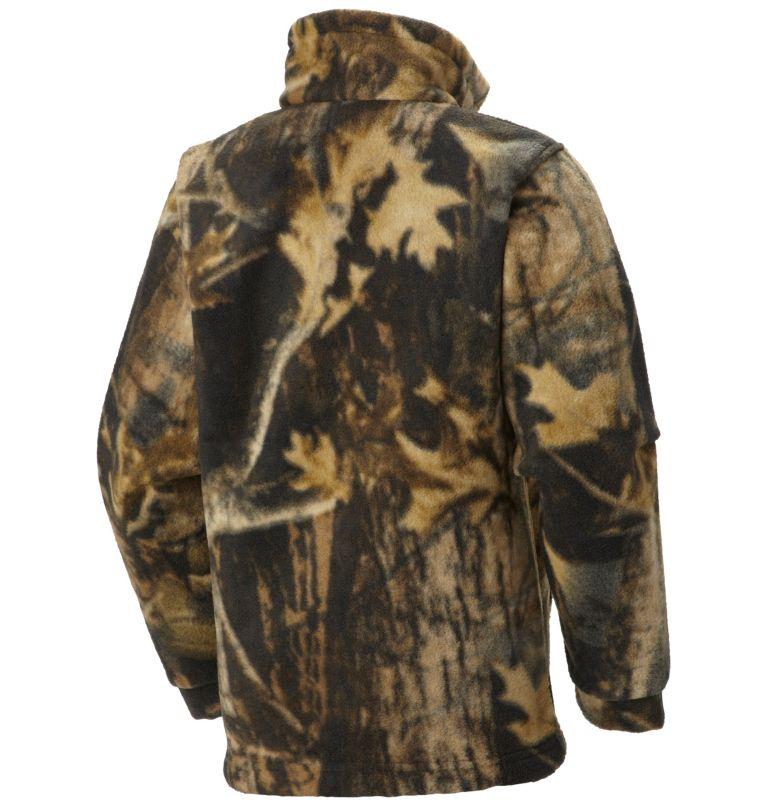 Zing™ III Fleece   939   2T Boys' Toddler Zing™ III Fleece Jacket, Timberwolf, back