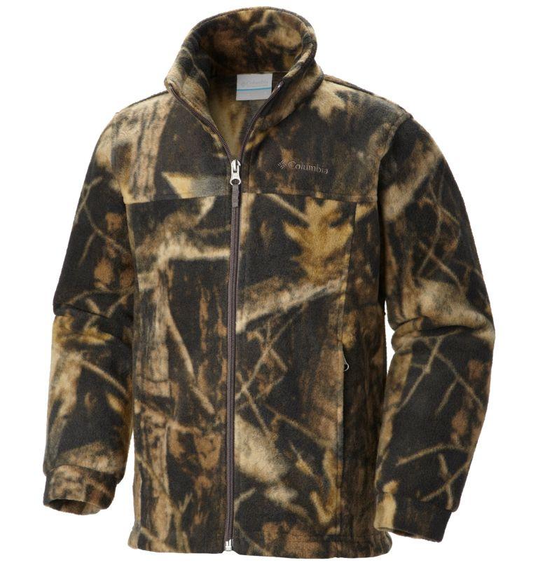 Zing™ III Fleece   939   4T Boys' Toddler Zing™ III Fleece Jacket, Timberwolf, front