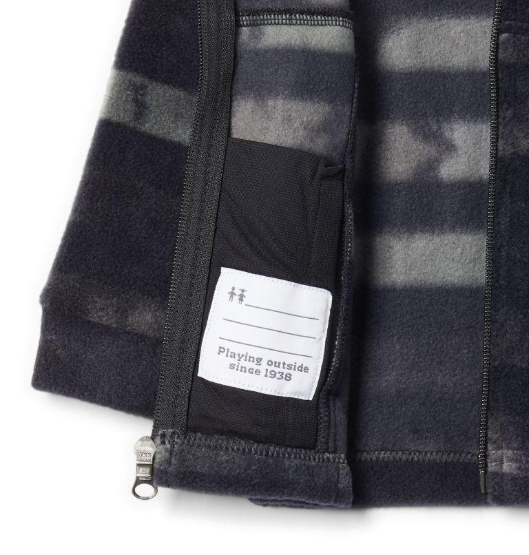 Zing™ III Fleece | 009 | 3/6 Boys' Infant Zing™ III Printed Fleece Jacket, Black Tie Dye Stripe, a1