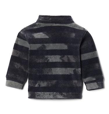 Boys' Infant Zing™ III Printed Fleece Jacket Zing™ III Fleece | 009 | 3/6, Black Tie Dye Stripe, back