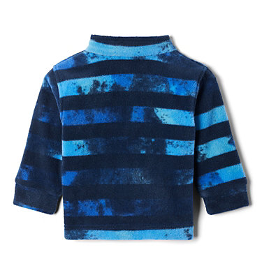 Boys' Infant Zing™ III Printed Fleece Jacket Zing™ III Fleece | 009 | 3/6, Azul Tie Dye Stripe, back