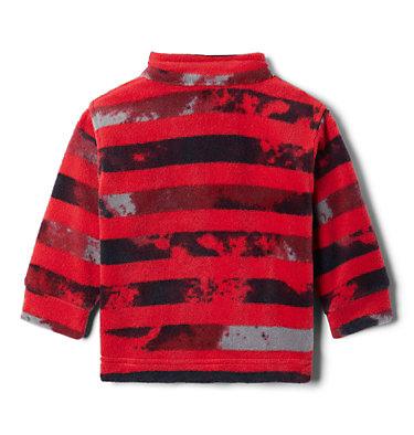Boys' Infant Zing™ III Printed Fleece Jacket Zing™ III Fleece | 009 | 3/6, Mountain Red Tie Dye Stripe, back