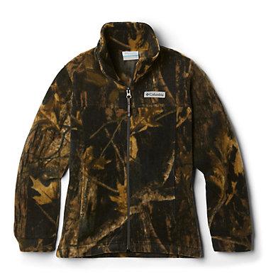 Boys' Infant Zing™ III Printed Fleece Jacket Zing™ III Fleece | 009 | 3/6, Timberwolf, front