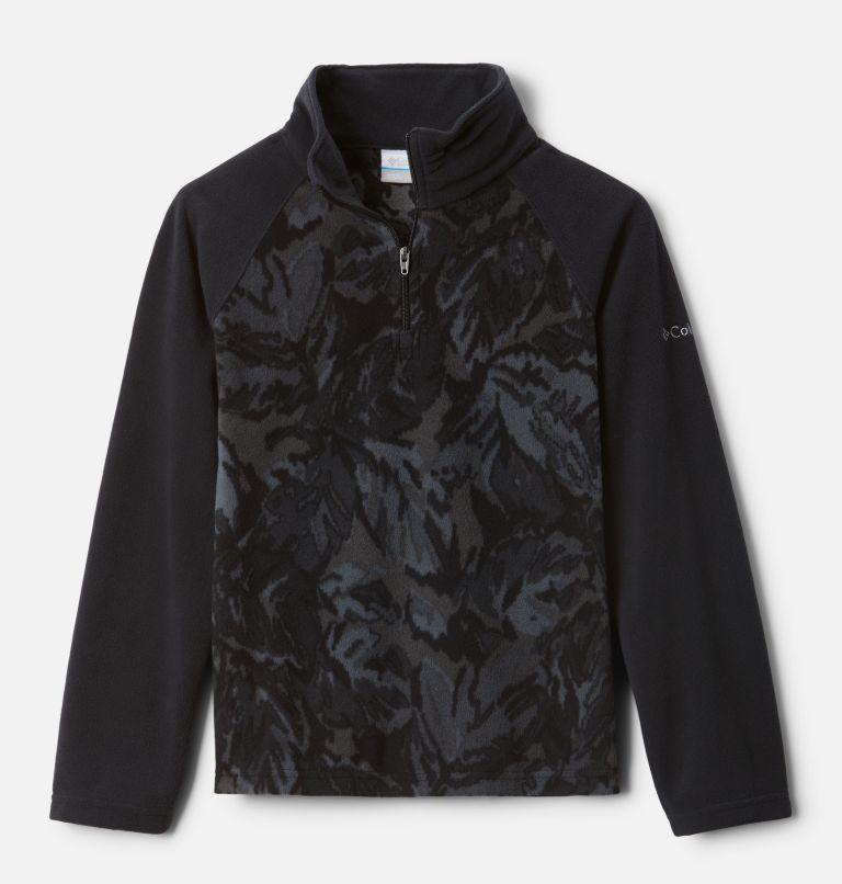 Girls' Glacial™ II Printed Fleece 1/4 Zip Pullover Girls' Glacial™ II Printed Fleece 1/4 Zip Pullover, front