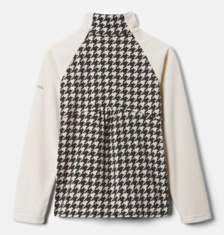 Girls' Glacial™ II Printed Fleece 1/4 Zip Pullover Girls' Glacial™ II Printed Fleece 1/4 Zip Pullover, back