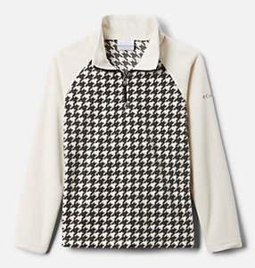 Girls' Glacial™ II Printed Fleece 1/4 Zip Pullover