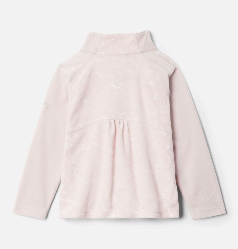 Girls' Toddler Glacial™ II Printed Fleece 1/4 Zip Pullover Girls' Toddler Glacial™ II Printed Fleece 1/4 Zip Pullover, back