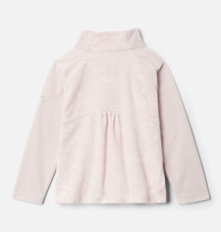 Girls' Toddler Glacial™ II Printed Fleece 1/4 Zip Pullover Girls' Toddler Glacial™ II Printed Fleece 1/4 Zip Pullover, back
