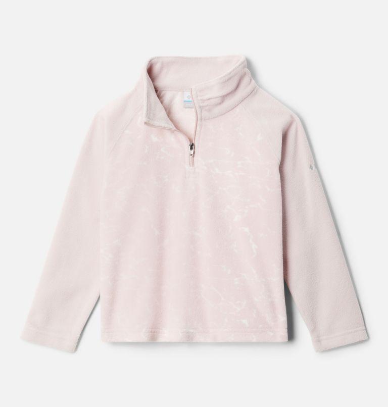 Girls' Toddler Glacial™ II Printed Fleece 1/4 Zip Pullover Girls' Toddler Glacial™ II Printed Fleece 1/4 Zip Pullover, front