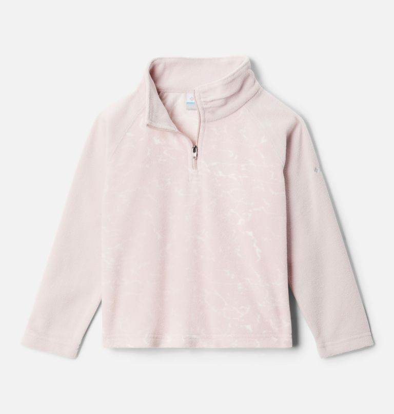 Girls' Toddler Glacial™ II Printed Fleece 1/4 Zip Pullover Girls' Toddler Glacial™ II Printed Fleece 1/4 Zip Pullover, front