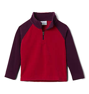 Girls' Toddler Glacial™ II Printed Fleece 1/4 Zip Pullover