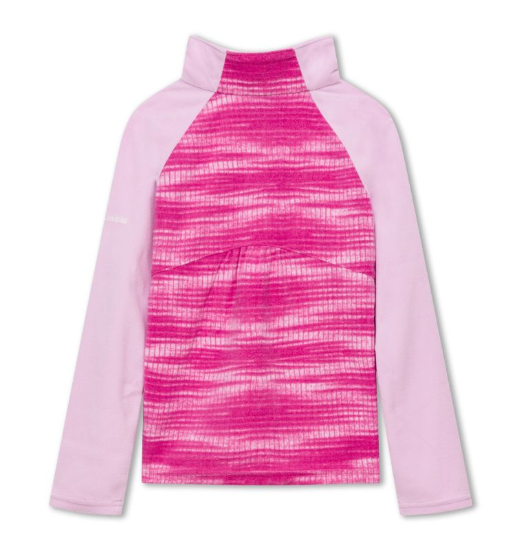 Girls' Glacial™ II Fleece Print Half Zip Girls' Glacial™ II Fleece Print Half Zip, back