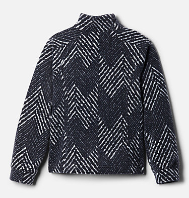 Girls' Benton Springs™ II Printed Fleece Jacket Benton Springs™ II Printed Fleece | 689 | L, Black Chevron Print, back