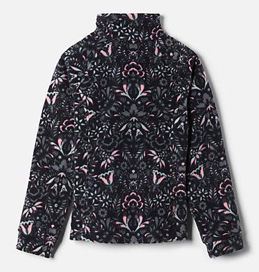 Girls' Benton Springs™ II Printed Fleece Jacket Benton Springs™ II Printed Fleece | 689 | L, Black Folk Floral Print, back