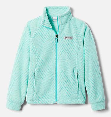 Girls' Benton Springs™ II Printed Fleece Jacket Benton Springs™ II Printed Fleece | 689 | L, Dolphin Chevron Print, front
