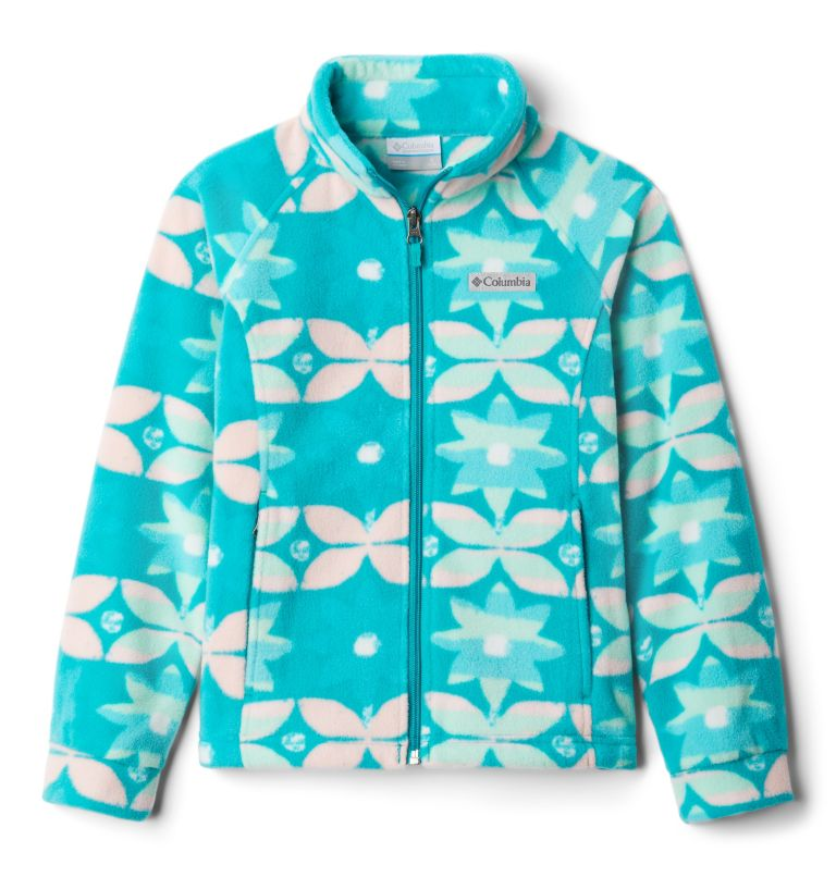 Girls' Benton Springs™ II Printed Fleece Jacket Girls' Benton Springs™ II Printed Fleece Jacket, front