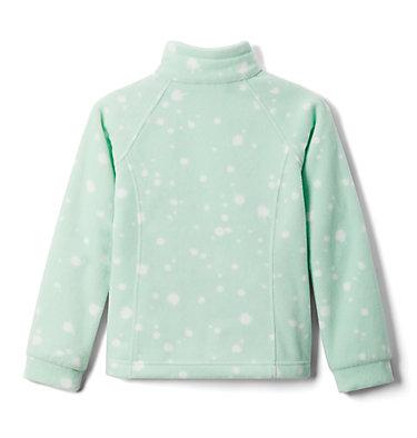 Girls' Benton Springs™ II Printed Fleece Jacket Benton Springs™ II Printed Fleece | 689 | L, New Mint Splattery Polkadot, back
