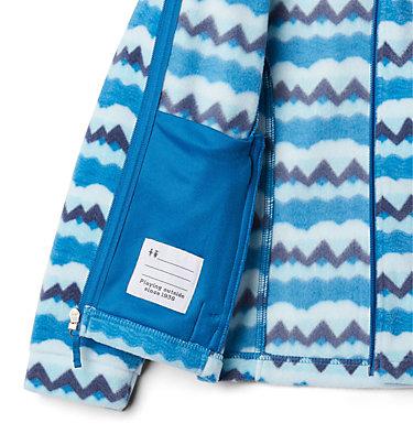 Girls' Benton Springs™ II Printed Fleece Jacket Benton Springs™ II Printed Fleece | 689 | L, Dark Pool Striped Peaks, a1