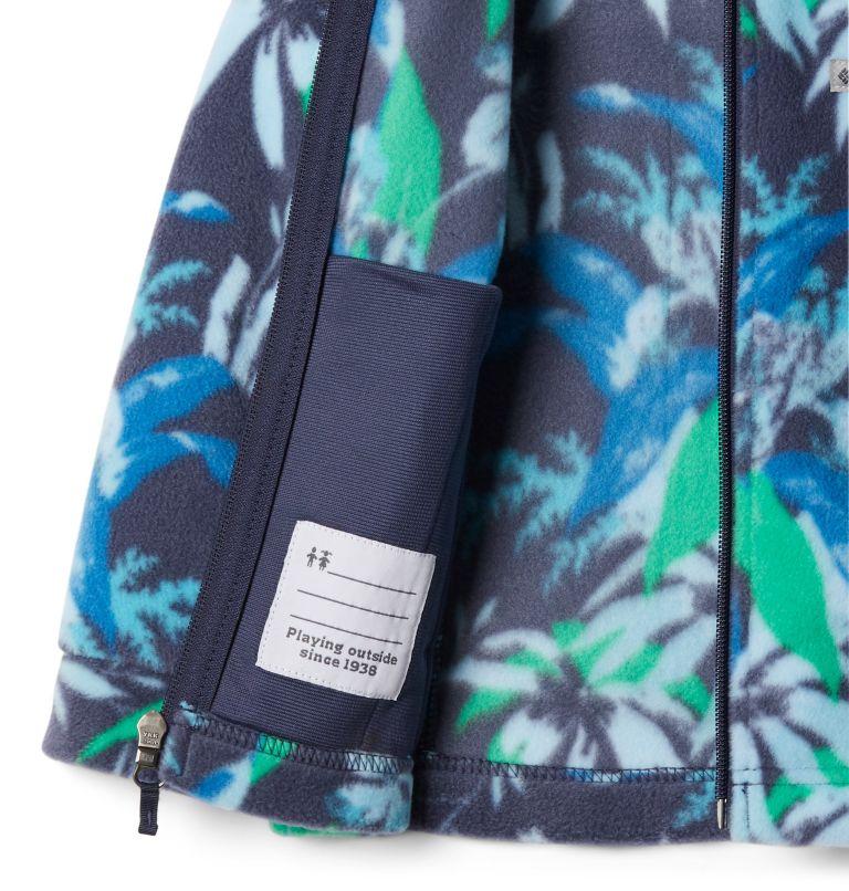 Benton Springs™ II Printed Fleece | 474 | L Girls' Benton Springs™ II Printed Fleece Jacket, Nocturnal Magnolia Floral, a1