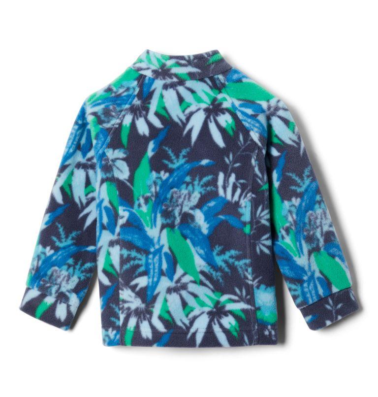 Benton Springs™ II Printed Fleece | 474 | L Girls' Benton Springs™ II Printed Fleece Jacket, Nocturnal Magnolia Floral, back