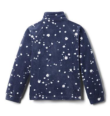 Girls' Benton Springs™ II Printed Fleece Jacket Benton Springs™ II Printed Fleece | 689 | L, Nocturnal Splattery Polkadot, back