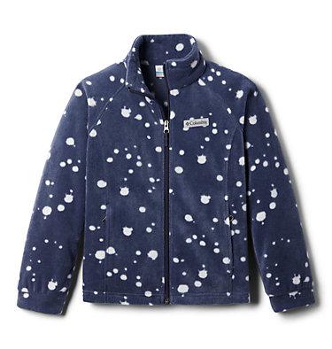 Girls' Benton Springs™ II Printed Fleece Jacket Benton Springs™ II Printed Fleece | 689 | L, Nocturnal Splattery Polkadot, front