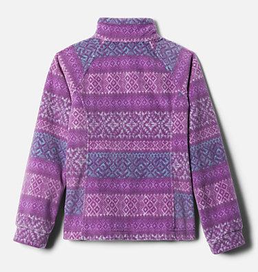 Girls' Benton Springs™ II Printed Fleece Jacket Benton Springs™ II Printed Fleece | 689 | L, Plum Fairisle Dot Print, back