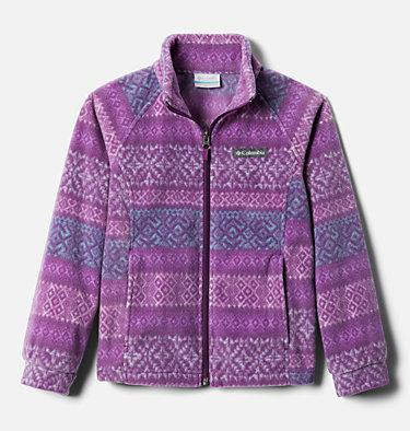 Girls' Benton Springs™ II Printed Fleece Jacket Benton Springs™ II Printed Fleece | 689 | L, Plum Fairisle Dot Print, front