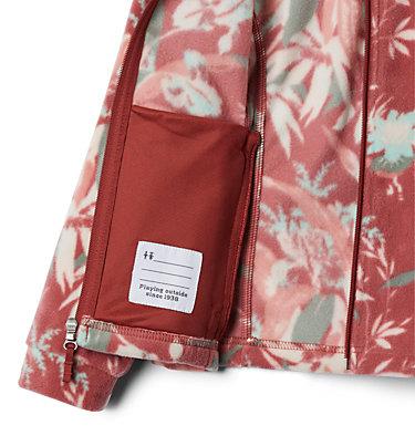 Girls' Benton Springs™ II Printed Fleece Jacket Benton Springs™ II Printed Fleece | 689 | L, Dusty Crimson Magnolia Floral, a1