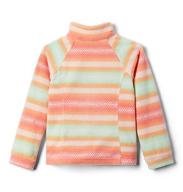 Girls' Benton Springs™ II Printed Fleece Jacket Benton Springs™ II Printed Fleece | 689 | L, Bright Nectar Bubble Stripes, back