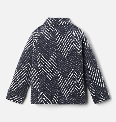 Girls' Toddler Benton Springs™ II Printed Fleece Jacket Benton Springs™ II Printed Fleece | 578 | 2T, Black Chevron Print, back