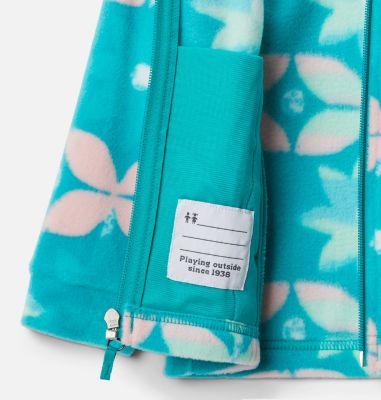 Girls' Toddler Benton Springs™ II Printed Fleece Jacket   Columbia Sportswear