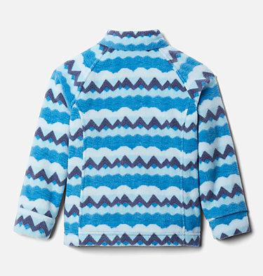 Girls' Toddler Benton Springs™ II Printed Fleece Jacket Benton Springs™ II Printed Fleece | 542 | 2T, Dark Pool Striped Peaks, back