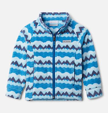Girls' Toddler Benton Springs™ II Printed Fleece Jacket Benton Springs™ II Printed Fleece | 542 | 2T, Dark Pool Striped Peaks, front