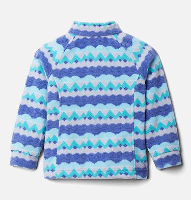 Girls' Toddler Benton Springs™ II Printed Fleece Jacket Benton Springs™ II Printed Fleece | 542 | 2T, African Violet Striped Peaks, back
