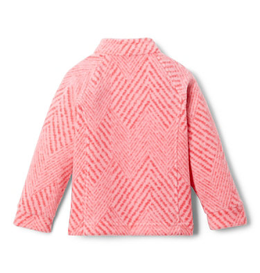 Girls' Toddler Benton Springs™ II Printed Fleece Jacket Benton Springs™ II Printed Fleece | 578 | 2T, Pink Orchid Chevron Print, back