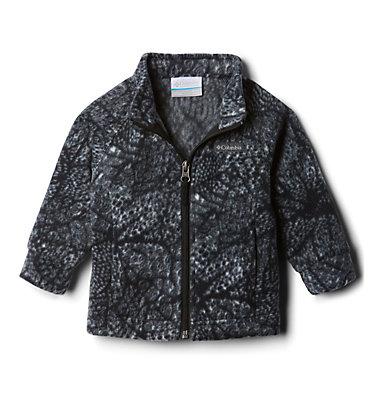 Girls' Infant Benton Springs™ II Printed Fleece Jacket Benton Springs™ II Printed Fleece | 474 | 3/6, Black Flowers, front