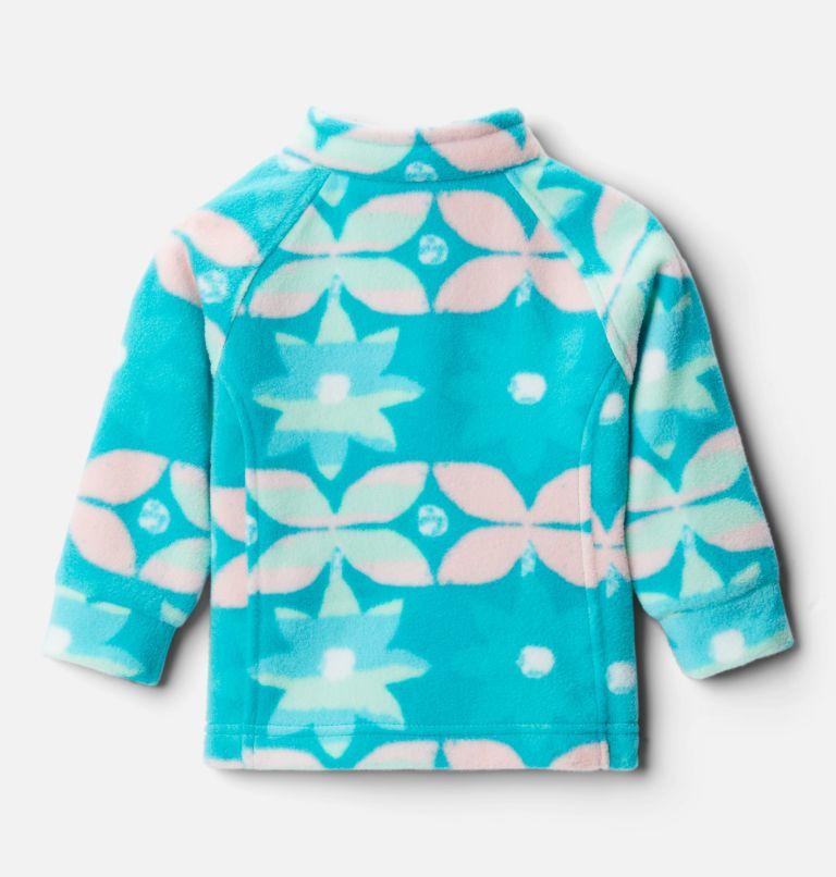 Benton Springs™ II Printed Fleece | 360 | 6/12 Girls' Infant Benton Springs™ II Printed Fleece Jacket, Tropic Water Nostalgia Floral, back