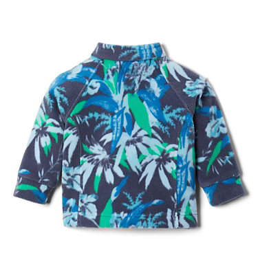 Girls' Infant Benton Springs™ II Printed Fleece Jacket Benton Springs™ II Printed Fleece | 474 | 3/6, Nocturnal Magnolia Floral, back
