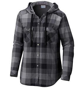 Chemise manches longues à capuchon Times Two™ pour femme - Grandes tailles