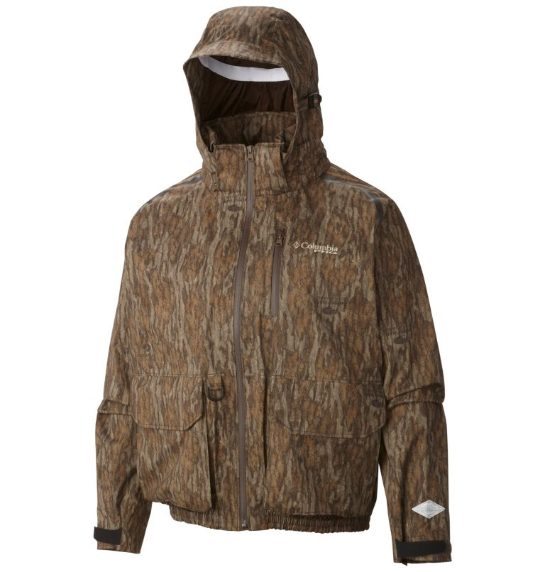 Widgeon™ Wader Shell | 936 | S Men's PHG Widgeon™ Wader Shell Jacket, Mossy Oak Bottomland, a1
