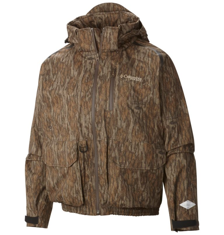 Widgeon™ Wader Shell | 936 | S Men's PHG Widgeon™ Wader Shell Jacket, Mossy Oak Bottomland, front