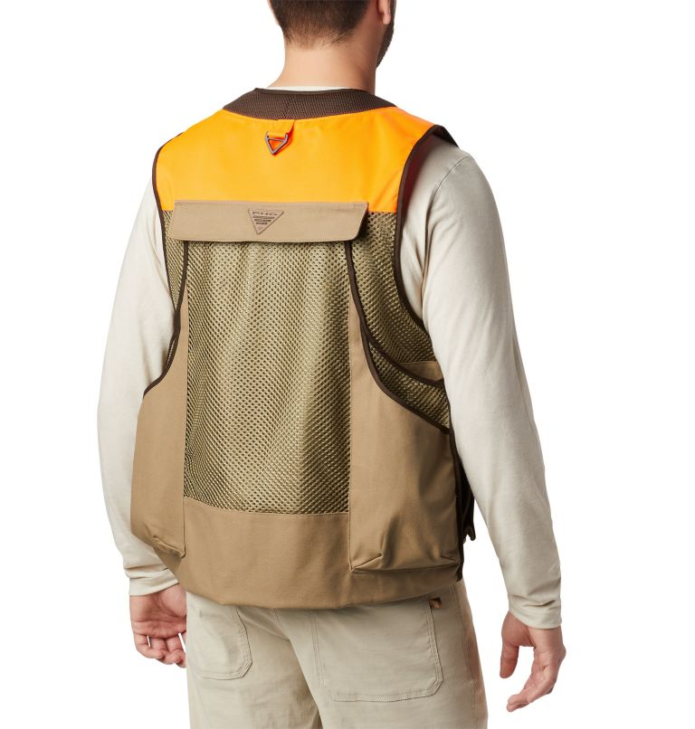Ptarmigan™ Bird Vest | 250 | L Men's PHG Ptarmigan™ Bird Vest, Flax, back