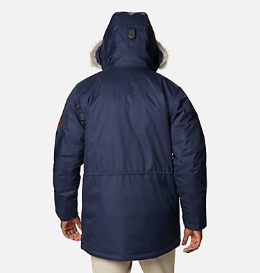 Men's Barlow Pass 550 TurboDown™ Jacket Barlow Pass 550 TurboDown™ Jacket | 397 | L, Collegiate Navy, back