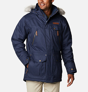 Men's Barlow Pass 550 TurboDown™ Jacket Barlow Pass 550 TurboDown™ Jacket | 397 | L, Collegiate Navy, front