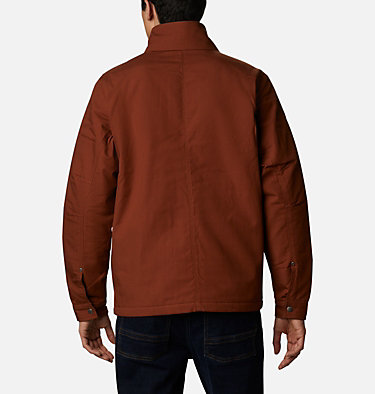 Men's Loma Vista™ Jacket Loma Vista™ Jacket | 023 | L, Dark Amber, Black Plaid, back